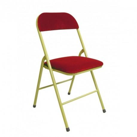 location de chaises de réception , chaise pliante velour , service reception reims